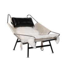 Hans Wegner PP225 Flagg Halyard Lounge Chair